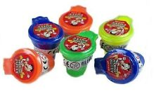 4 x Putty Noise Toilet Sound Fart Joke Pranks Gift Children Party Bag Filler