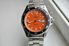 Orient CEM65004MW Mako Orange Dial Divers Watch