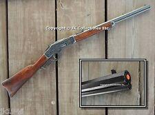 Non-Firing Replica 1873 WINCHESTER Engraved Gray Rifle Western Cowboy Prop Gun