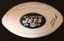Darron Lee Signed New York Jets Logo Football w/JSA COA Ohio State