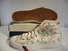 PRO-KEDS ROYAL HI ANDREW KUO II LE MEN SHOES WHITE PRINT MK06017 SIZE 9.5 NEW
