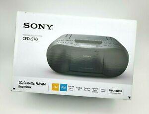 Sony Stereo CD Cassette Boombox Home Audio Radio