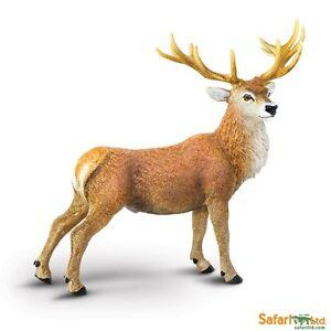 Safari ltd 181929 Red Deer 11 CM Series Wild Animals