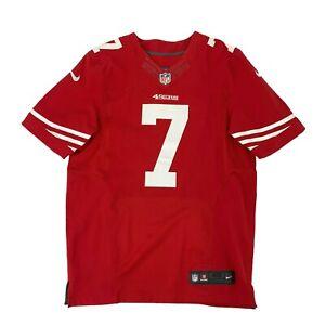 Colin Kaepernick Nike Jersey Men's Size 40 Red NFL On Field San Francisco 49ers