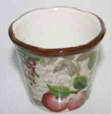 YANKEE CANDLE VOTIVE HOLDER ~ CHRISTMAS GARDEN ~ CAMELLIA