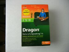 Nuance Dragon Naturally Speaking Standard Edition 10