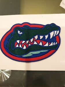 """Florida Gators 4.5""""X3"""" IRON ON Embroidered Patch"""