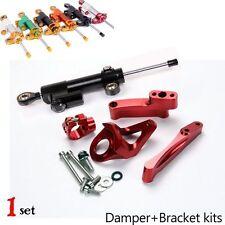 CNC Steering Damper Complete Set for Suzuki GSX1300R hayabusa w/ bracket kits