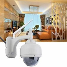 Wireless Wifi Network IP Camera 3 Optical Zoom PTZ Outdoor Waterproof USA #Q