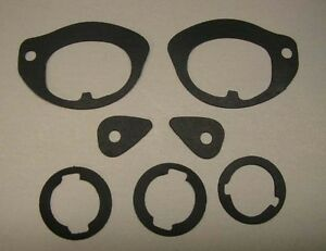 NEW 1966-1967 Chevy Nova or Chevy II Outside Door Handle And Lock Gasket Set