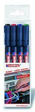 edding 8407 Kabelmarker Rundspitze 0,3 mm sortiert schwarz, rot, blau, grün