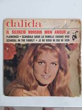 DALIDA IL SILENZIO + 3 Tracks RARE ISRAELI 7' EP 45 HED ARZI # EP-281