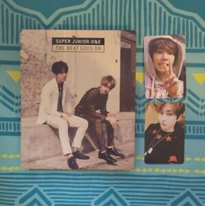 Super Junior The Beat Goes On Normal Edition With Extra Photocard