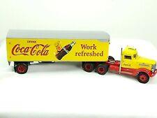Matchbox Collectible Coca Cola TractorTrailer Peterbilt WORK REFRESHED COCA-COLA