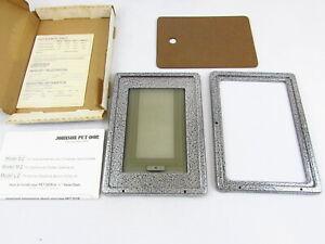 Vintage Johnson Pet-Dor Metal Frame S-2 (Small) Cat Door Unused/NOS
