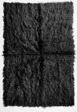 Woolen Solid Hand-Knotted Shag Rugs