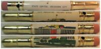 RESTORED Vintage Bullet Pencil - State Capitol - Oklahoma City EF-1214