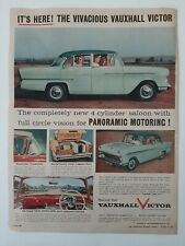 Vintage Australian advertising 1957 ad GM GENERAL MOTORS HOLDEN VAUXHALL VICTOR