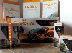 Anki Overdrive Starter Kit + 3 Tracks + 3 Trucks + Car Bundle ~ NEW Set