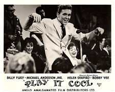 PLAY IT COOL ORIGINAL BRITISH LOBBY CARD  BILLY FURY IN CONCERT 1962