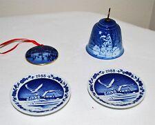 Bing & Grondahl Christmas Ornaments & Mini Plates
