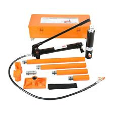 20 Ton Hydraulic Jack Air Pump Lift Porta Power Ram Repair Tool Kit Set W/Case