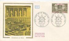 FIRST DAY COVER / 1° JOUR FRANCE / SENAT DE LA REPUBLIQUE 1975 PARIS
