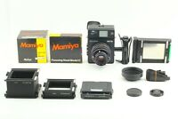 *MINT*MAMIYA Polaroid 600 SE Instant Film Camera w/Mamiya 127mm F/4.7 LENS#JAPAN