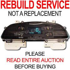 94 95 96 Chevy Caprice Impala Digital Insturment Cluster REBUILD REPAIR