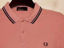 Fred Perry slim fit twin tipped polo shirt t-shirt M3600 M medium F16