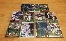 BLAINE BISHOP LOT OF 11 FOOTBALL CARDS TENNESSEE TITANS SAFETY