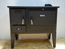 Woodburning Cooking Stove Oven  Solid Fuel Cooker Top Flue 7,5 kw Legs
