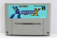 Rockman X Mega Man SFC Nintendo Super Famicom SNES Japan Import I6807