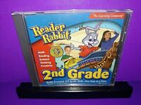 Reader Rabbit 2nd Grade 2002 (Windows/Mac, 2002) PC CD ROM B477/B501
