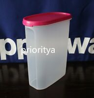 Tupperware Modular Mates Oval Container #4 with Flat Seal in Pink New