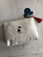Disney by Junk Food Target Exclusive Mickey Mouse Canvas Cosmetic Bag