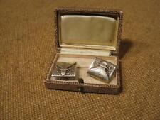 ███►Rarität alte Manschettenknöpfe/800er Silber-ca.1800 (Fach 30)