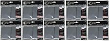 1000 Ultra Pro Eclipse Smoke Grey Pro Matte Deck Protector Sleeves Brand New