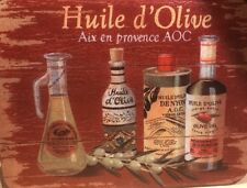 New listing Olive Oil In French Acrylic Cutting Chopping Board 16� x 12�