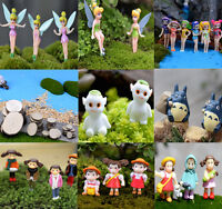 Cartoon Figure Fairy Garden Miniatures Gnome Moss Terrariums Crafts Figurines 3C