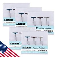 5Packs AZDENT Dental Composite Polishing Diamond System RA Disc 14mm Wheel US