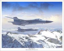 "F-111C Pig by Mark Karvon Aviation Art Print, Size 11"" x 14"""