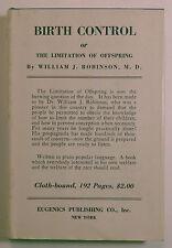 Robinson, William - Birth Control or the Limitation of Offspring - 1938 - 48th/H