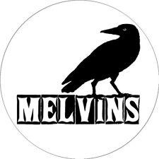 CHAPA/BADGE MELVINS . pin nirvana kyuss black sabbath mudhoney helmet clutch