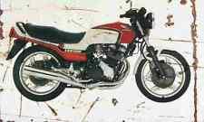 Honda CBX550F 1982 Envejecido Vintage sign A3 Grande Retro