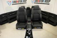 BMW Pelle Sedili Dakota Nero 7' F02 Comfort Interni IN Pelle
