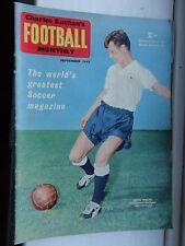 charles Buchan's Football monthly 1962 Sept no133 Birmingham city