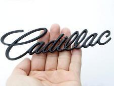 Car Styling 3D Badge Emblem Sticker Black Fits for Cadillac XT5 CT6 ATS CTS XTS