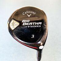 Callaway Big Bertha V-Series 3-Wood. Reg Flex - Good Condition, Free Post # 9927