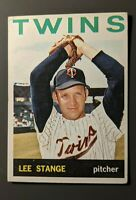 1964 Topps #555 Lee Stange Minnesota Twins High Number VGEX